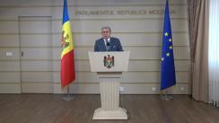 Declarațiile lui Mihai Ghimpu în timpul ședinței Parlamentului Republicii Moldova din 20 octombrie 2017
