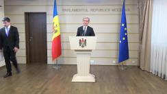 Declarațiile lui Iurie Leancă după ședința Consiliului parlamentar pentru Integrare Europeană din 20 octombrie 2017