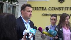 Declarațiile lui Maxim Lebedinschi după ședința Curții Constitționale de examinare a sesizării depuse de către Guvern privind constatarea circumstanțelor care justifică instituirea interimatului funcției de Președinte al Republicii Moldova