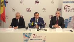 Conferință de presă organizată de Partidul Platforma Demnitate și Adevăr privind descentralizarea