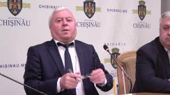 Declarațiile lui Valeriu Nemerenco după Ședința Primăriei din 23 octombrie 2017