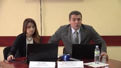 """Conferința de presă dedicată lansării unui nou număr al publicației """"Tendințe în Economia Moldovei"""" (ediția nr. 26)"""