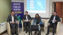 """Conferință de presă pe marginea rezultatelor proiectului """"Audieri publice pentru Chișinău"""""""