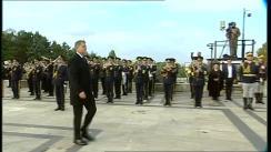Ceremonia militară organizată cu prilejul Zilei Armatei României