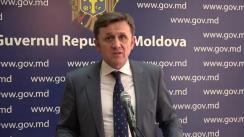 Declarațiile lui Iurie Ciocan după ședința Guvernului Republicii Moldova din 25 octombrie 2017