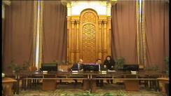 Ședința  comisei parlamentară de anchetă a Camerei Deputaților și Senatului privind activitatea Autorității Naționale de Reglementare în Domeniul Energiei din 26 octombrie 2017