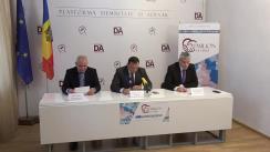 Conferință de presă organizată de Partidul Platforma Demnitate și Adevăr privind așa zisa reformă a administrației publice centrale