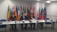 """Conferința """"Creșterea incluzivă – provocări și oportunități"""", organizată în contextul lansării de către Comisia Europeană a Cărții Albe privind viitorul Europei și a Documentului de reflecție privind dimensiunea socială a Uniunii Europene"""