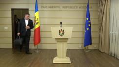 Declarația fracțiunii PSRM în timpul ședinței Parlamentului Republicii Moldova din 27 octombrie 2017