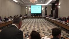"""Conferința """"Cum atragem investiții străine în spațiul media al Republicii Moldova prin intermediul legislației moderne"""""""