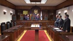 Pronunțarea Avizului CCM asupra inițiativei a 35 de deputați privind introducerea limbii române în Constituție
