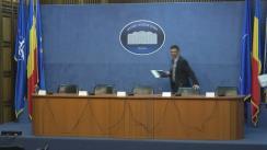 Conferință de presă organizată de Ministerul Afacerilor Interne privind pachetul legislativ pentru întărirea autorității polițistului