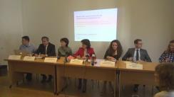 """Conferință de presă cu tema """"Modificările aduse Codului Fiscal destabilizează societatea civilă"""" organizată de Asociația pentru Relații Comunitare"""