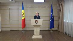 Declarația fracțiunii PCRM în timpul ședinței Parlamentului Republicii Moldova din 2 noiembrie 2017