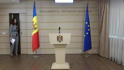 Declarațiile Alinei Zotea în timpul ședinței Parlamentului Republicii Moldova din 2 noiembrie 2017
