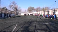 Inaugurarea celor două terenuri de mini-fotbal, care au fost renovate și modernizate în cadrul unui proiect susținut de Ministerul Afacerilor Interne și Federația Națională de Fotbal