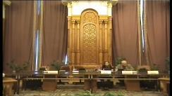 Ședința comisiei specială de anchetă a Senatului și Camerei Deputaților pentru verificarea aspectelor ce țin de organizarea alegerilor din 2009 și de rezultatul scrutinului prezidențial