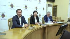 Declarații după ședința săptămânală a serviciilor primăriei Chișinău din 6 noiembrie 2017