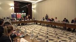 Prezentarea rezultatelor proiectelor privind combaterea discriminării, agenda digitală, consolidarea sistemului judiciar și alegerile din Republica Moldova