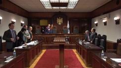 Curtea Constituțională examinează sesizarea dacă modul în care legile restrâng dreptul la grevă pentru unii angajați corespund Constituției