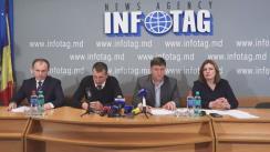 """Conferință de presă cu tema """"Cerințele avocaților pe cazul tentativei de omor a lui Gherman Gorbunțov în contextul declarațiilor făcute de către Vitalie Proca"""""""