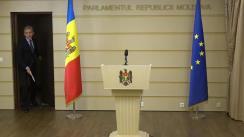 Declarațiile lui Iurie Leancă după ședința Consiliului parlamentar pentru Integrare Europeană din 7 noiembrie 2017