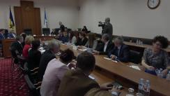 Ședința Curții de Conturi de examinare a Raportului auditului performanței Proiectului Agricultura Competitivă în Moldova