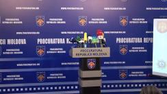 Conferință de presă organizată de Procuratura Generală, de comun cu Inspectoratul General al Poliției și Direcția Poliție a municipiului Chișinău, privind operațiunea antidrog