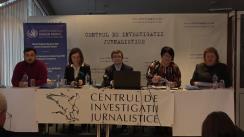 """Ședința Clubului Jurnaliștilor de Investigație la tema """"Inegalitățile dintre sat și oraș, impediment de bază în realizarea drepturilor economice și sociale în Republica Moldova"""""""