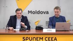 """Conferință de presă cu tema """"Prezentarea proiectului Moldova 3D"""""""