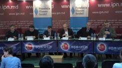 """Dezbaterile publice cu tema """"Un veac de Revoluție Rusă: urmări și așteptări"""""""