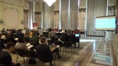 """Conferința organizată de Institutul European din România și Ministerul Afacerilor Externe cu tema """"România și aderarea la zona Euro"""""""