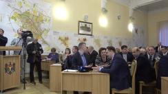 Ședința săptămânală a serviciilor primăriei Chișinău din 13 noiembrie 2017