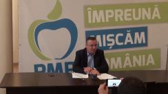 Conferință de presă organizată de PMP Iași