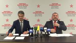 """Conferință de presă susținută de consilierii municipali ai PSRM cu tema """"De ce Chirtoacă ar putea să evite pedeapsa penală. Detalii din al doilea dosar, dar și altele"""""""