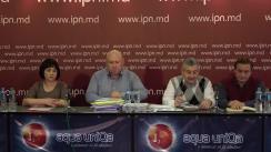 """Conferință de presă organizată de Fiodor Ghelici cu tema """"Comisia pentru controlul public a președintelui Moldovei a fost supusă insulelor fizice și morale din partea unui presupus membru al partidului democraților"""""""