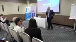 """Forumul Mass-Media 2017. Prezentarea concluziilor atelierelor. Prezentarea și adoptarea Rezoluției Forumului Mass-Media 2017 și a completărilor în """"Foaia de parcurs"""" pentru dezvoltarea mass-mediei din Republica Moldova"""