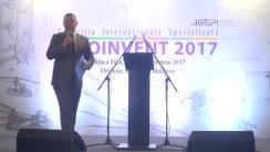 """Ceremonia oficială de deschidere a Expoziției Internaționale Specializate """"INFOINVENT"""""""