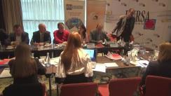 """Dezbaterea cu tema """"Criza forței de muncă în construcții – provocări și soluții"""", organizată de Federația Patronatelor Societăților din Construcții și grupul de presă BURSA"""