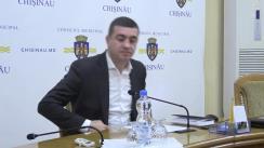 Declarațiile lui Vitalie Butucel după Ședința Primăriei din 13 noiembrie 2017
