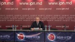 """Conferința de presă """"Scrisoare adresată președintelui Partidului Democrat, Vlad Plahotniuc, președintelui Parlamentului, Andrian Candu, și primului ministru, Pavel Filip, în care se solicită ajutor pentru soluționarea unui caz de lipsire a doi copii minori de proprietatea lor din aprilie 2005"""""""