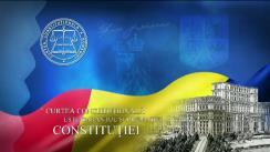 Ședința publică a Curții Constituționale a României din 16 noiembrie 2017