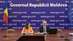 Conferință de presă organizată de Ministerul Educației, Culturii și Cercetării al Republicii Moldova privind rezultatele examenului național de bacalaureat