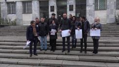 Flashmob organizat de PAS în fața Procuraturii Generale