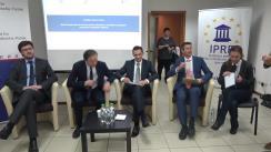 """Clubul de presă organizat de Institutul pentru Politici Europene de la Berlin, în parteneriat cu IPRE și Institutul pentru Inițiative Strategice cu tema """"Rolul Europenizării și starea actuală a situației în consolidarea integrării interetnice în Republica Moldova"""""""