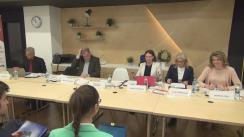 """Dezbaterea organizată de Institutul European din România, Ministerul Afacerilor Externe și Facultatea de Relații Economice Internaționale/ASE București cu tema """"Politica comercială a UE. Provocări și priorități"""""""
