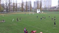 Meciul de Rugby între CSM București - Timișoara Saracens. Cupa României, etapa 3