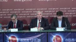"""Conferință de presă organizată de Partidul Liberal Democrat din Moldova cu tema """"Un atac mediatic de tip hibrid în adresa Republicii Moldova"""""""