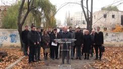 """Conferință de presă susținută de consilierii municipali PSRM cu tema """"Totalurile campaniei de pregătire a Referendumului """"Anti-Chirtoacă"""""""