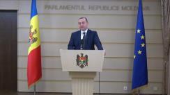 Declarațiile lui Vlad Batrîncea în timpul ședinței Parlamentului Republicii Moldova din 16 noiembrie 2017